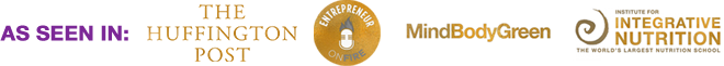 As Seen In The Huffington Post - Entrepreneur on Fire - MindBodyGreen - Integrative Nutrition